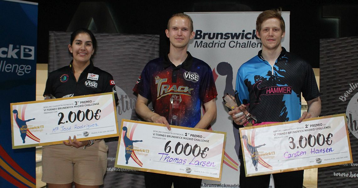 Larsen defeats Hansen to win his fifth EBT title in Brunswick Madrid Challenge