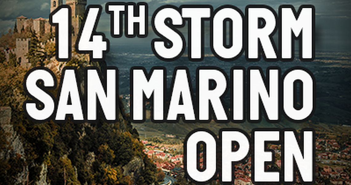14th Storm San Marino Open – Tournament Preview
