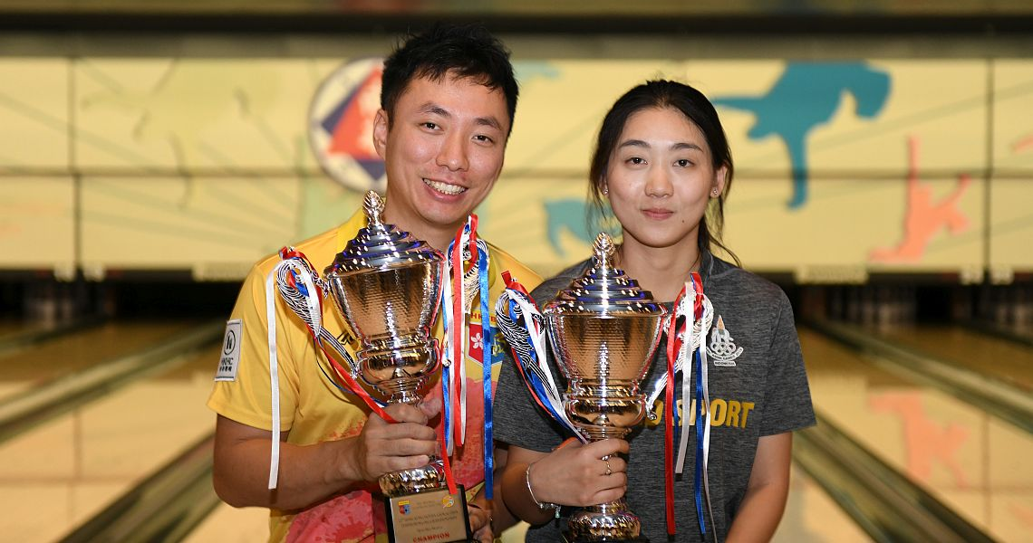 Wu Siu Hong, Yanee Saebe win 44th Hong Kong Open