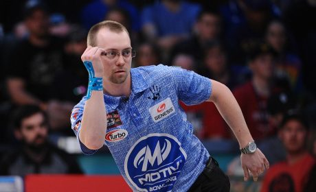 EJ Tackett leads PBA Xtra Frame Gene Carter's Pro Shop Classic qualifiers