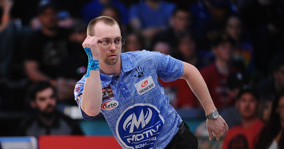 EJ Tackett leads PBA XF Parkside Lanes Open after first round