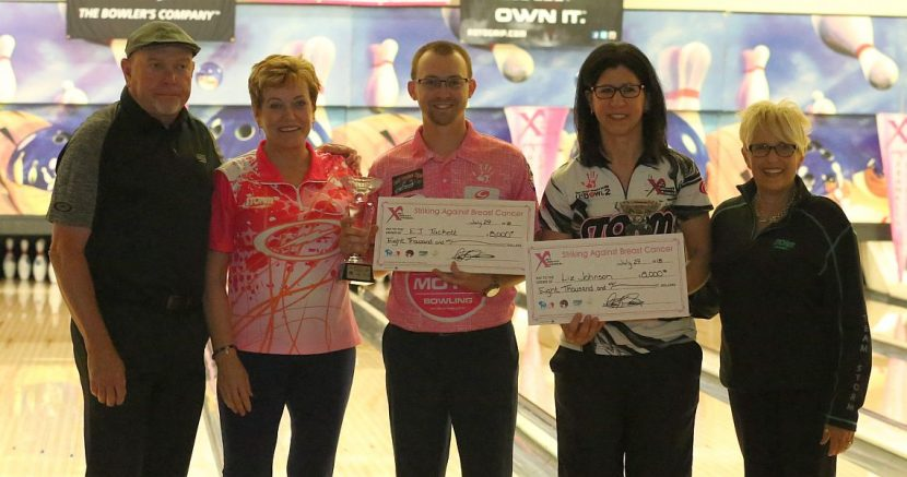 EJ Tackett, Liz Johnson win PBA-PWBA Storm SABC Mixed Doubles