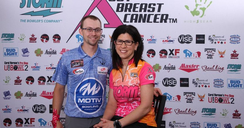 Liz Johnson & EJ Tackett move into PBA-PWBA Storm SABC Mixed Doubles lead