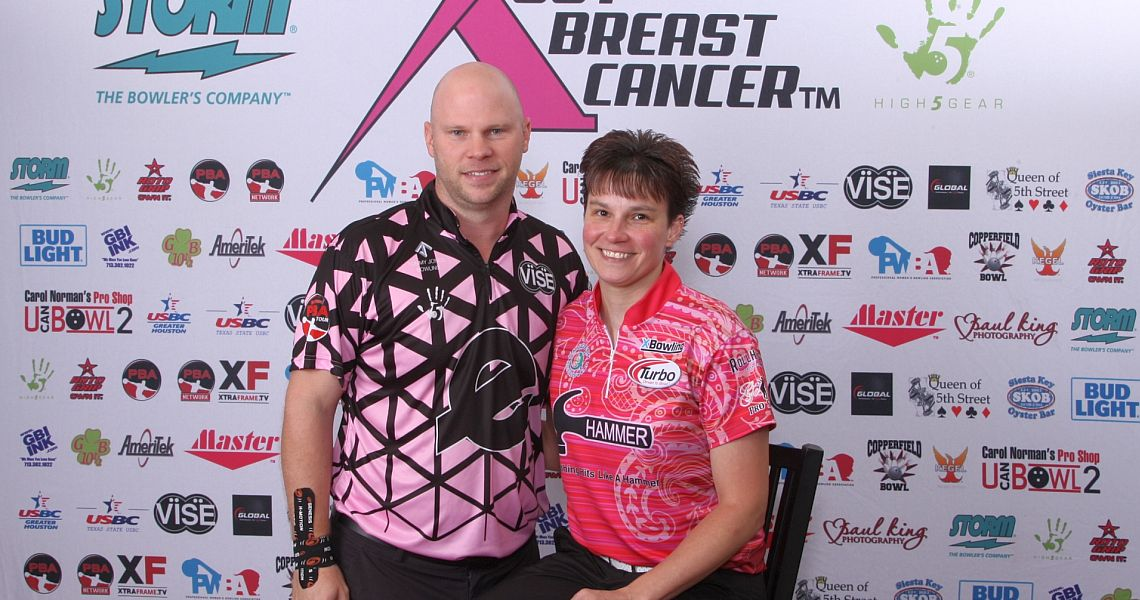 Pluhowsky-Jones are early leaders in PBA-PWBA Storm SABC Mixed Doubles