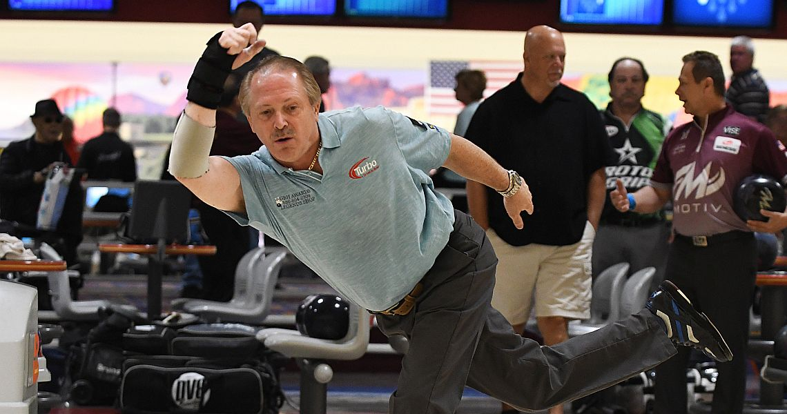 Kent, Sullins take first round lead in PBA50 Security Federal Savings Bank Championship