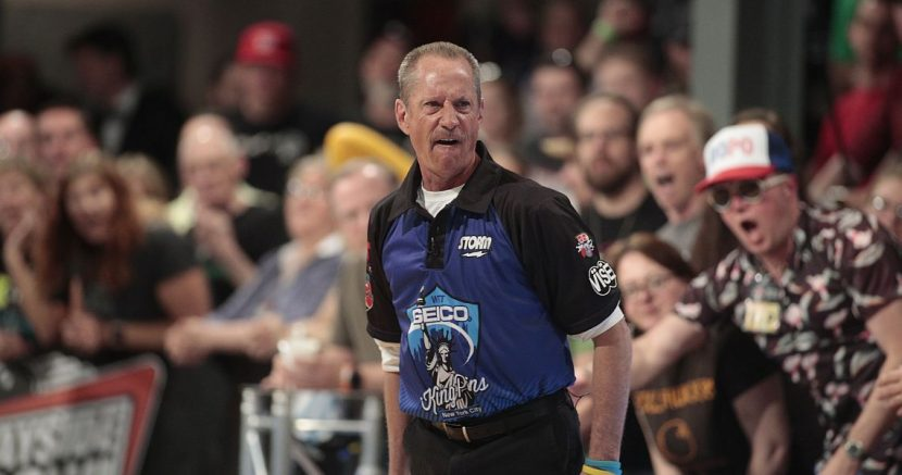 Perfect game helps Chris Gibbons take first round lead in PBA50 South Shore Open