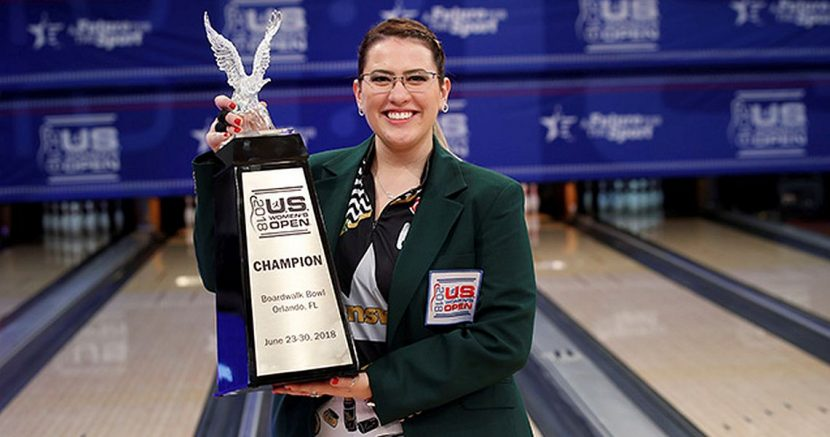 Liz Kuhlkin earns her first major title at U.S. Women's Open