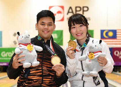 Mirai Ishimoto, Rafiq Ismail win Asian Games Masters gold from top seed