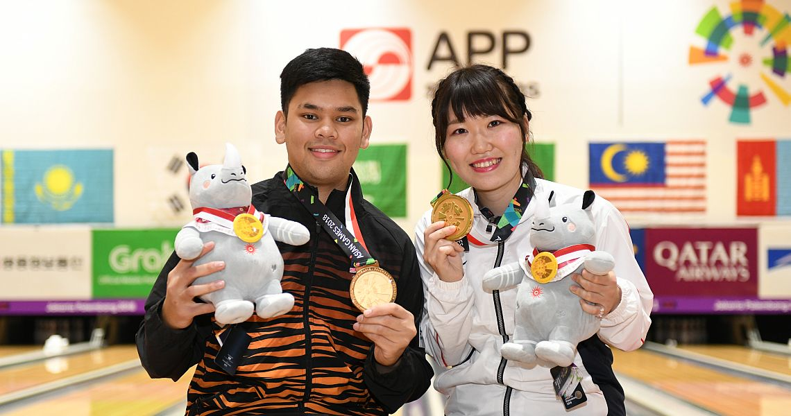 Mirai Ishimoto, Rafiq Ismail win Asian Games Masters gold from top seed