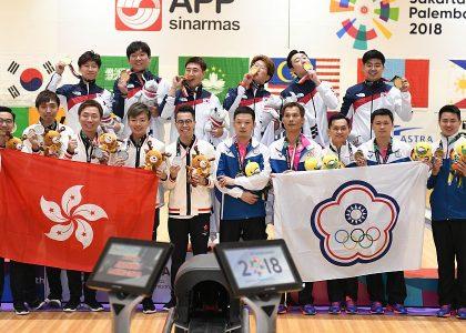 Korean men defend Team gold medal at 18th Asian Games