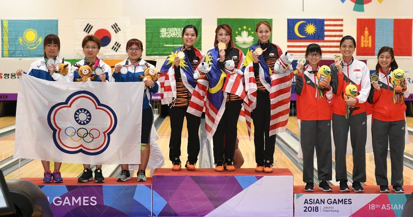 Malaysian women bowlers start Asian Games 2018 with victory in trios