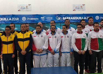 Mexican women, Puerto Rican men defend team titles at Barranquilla 2018