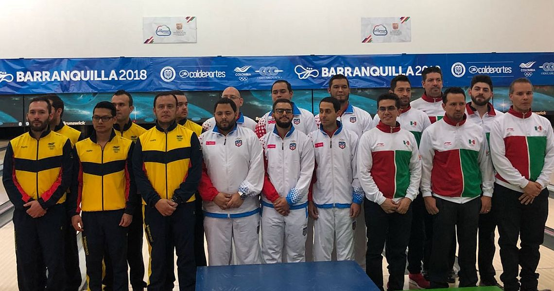 Mexican women, Puerto Rican men defend team titles at Barranquilla 2018