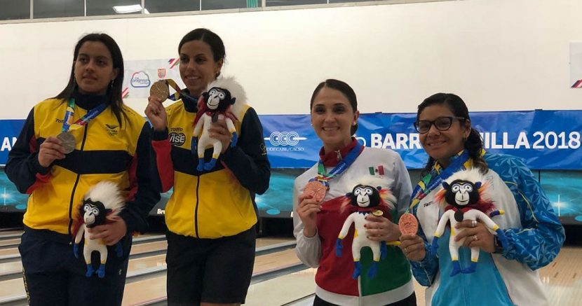 Rocio Restrepo, Luis Rovaina win Masters gold at CACG Barranquilla 2018
