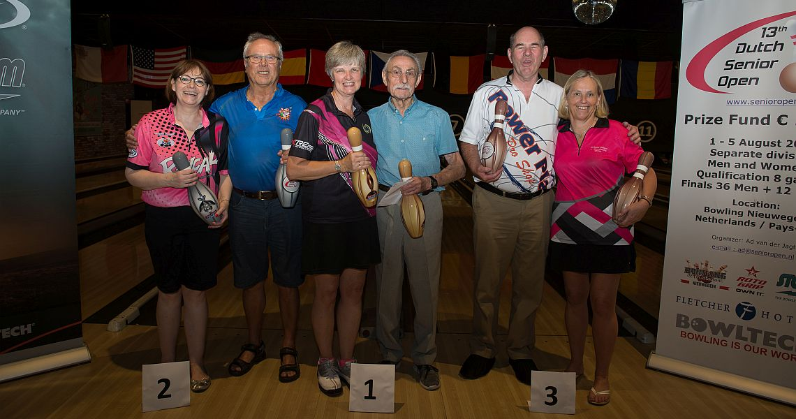 Kimberley Oakley, Frank Stander triumph in 13th Dutch Senior Open 2018