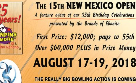 World Bowling Tour 2018 resumes with 15th New Mexico Open