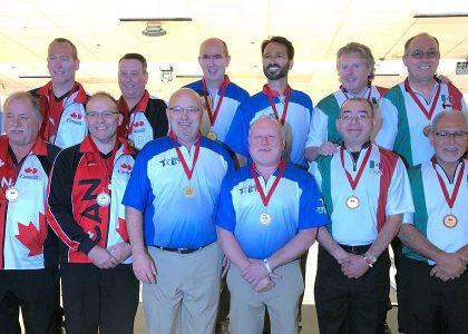 Mexico and USA win Team gold at PABCON Senior & Super Senior Championships