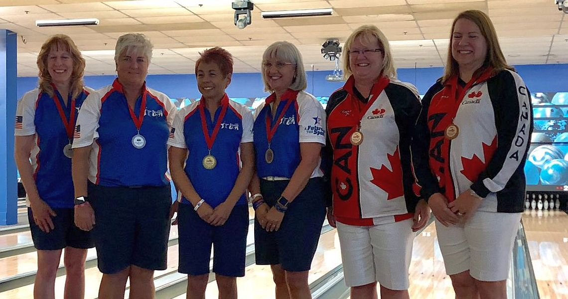 Team USA sweeps Doubles titles at PABCON Senior Championships