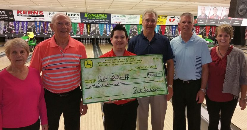 Jakob Butturff chosen as August IBMA Bowler of the Month