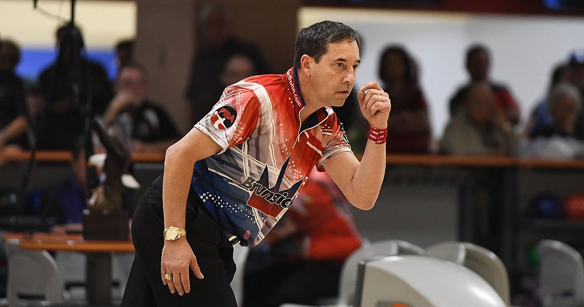 Parker Bohn III takes top qualifier honors in PBA50 Cup