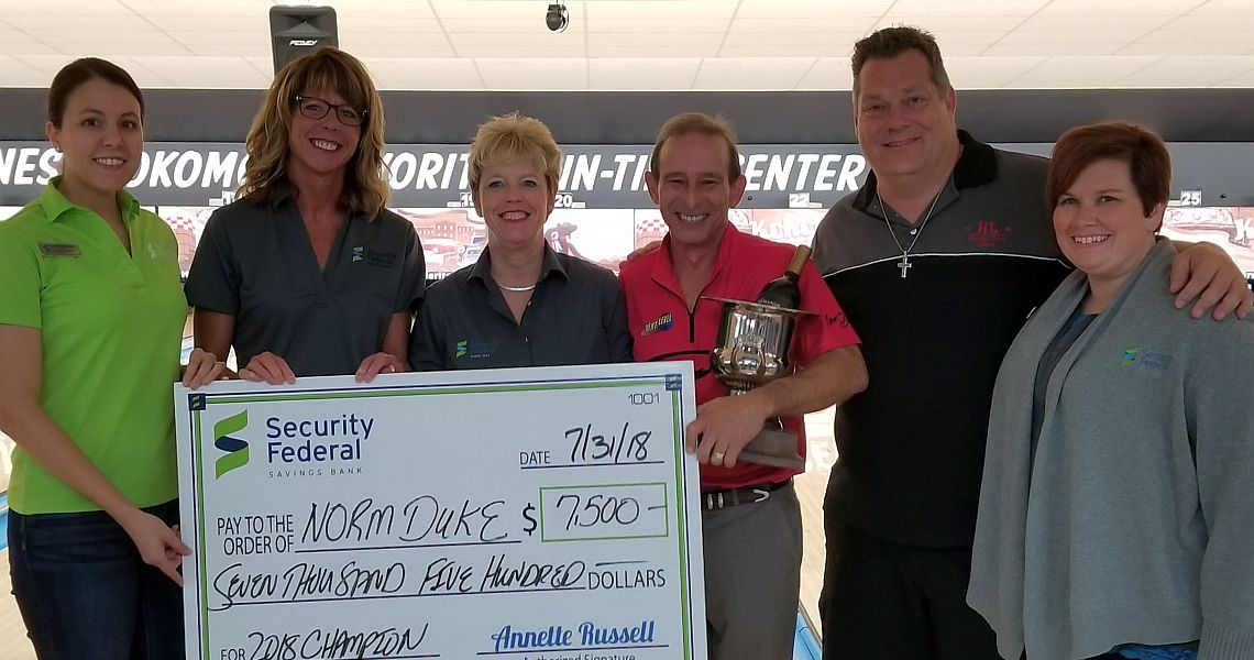 Norm Duke closes the deal to win PBA50 Security Federal Savings Bank Championship