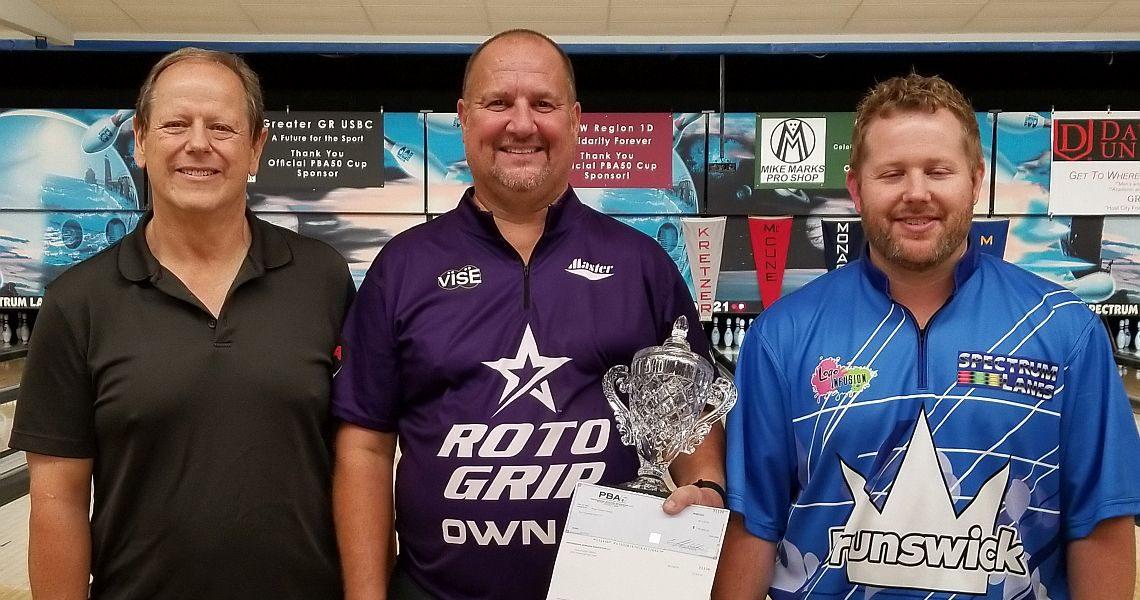 Brian Kretzer wins PBA50 Cup for first PBA50 Tour title