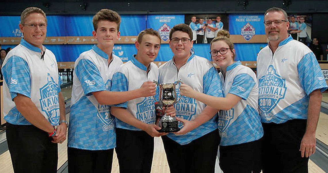 U15 defending champions repeat at 2018 USA Bowling National Championships