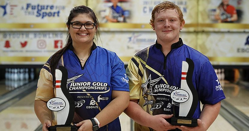 Top seeds earn U20 titles at 2018 Junior Gold Championships