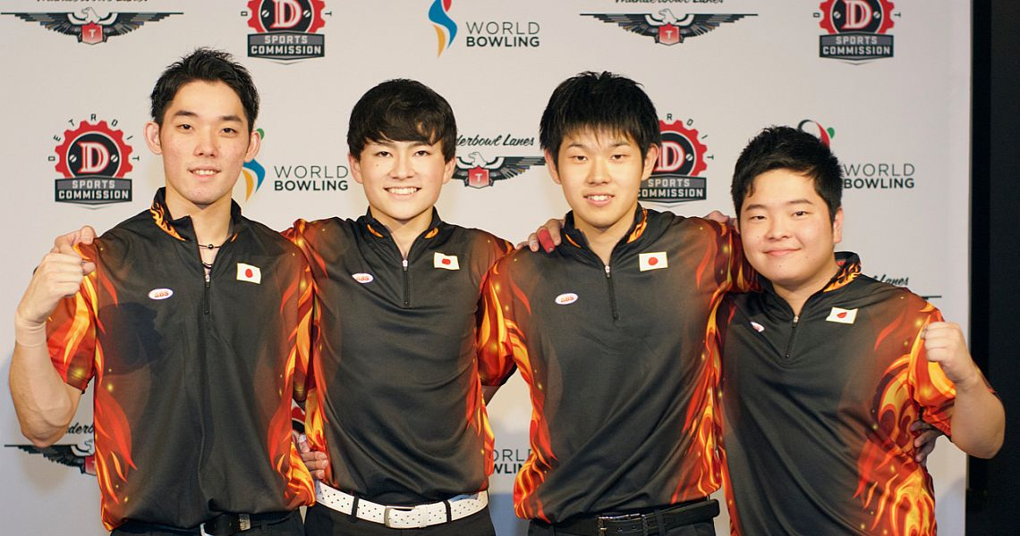 Japan, Korea lead team event at 2018 World Bowling Youth Championships