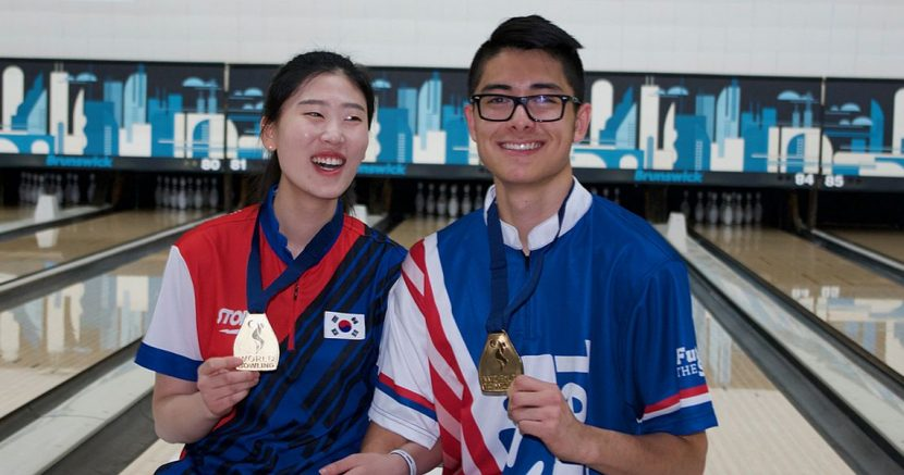 Korea, USA win Masters gold at 2018 World Bowling Youth Championships