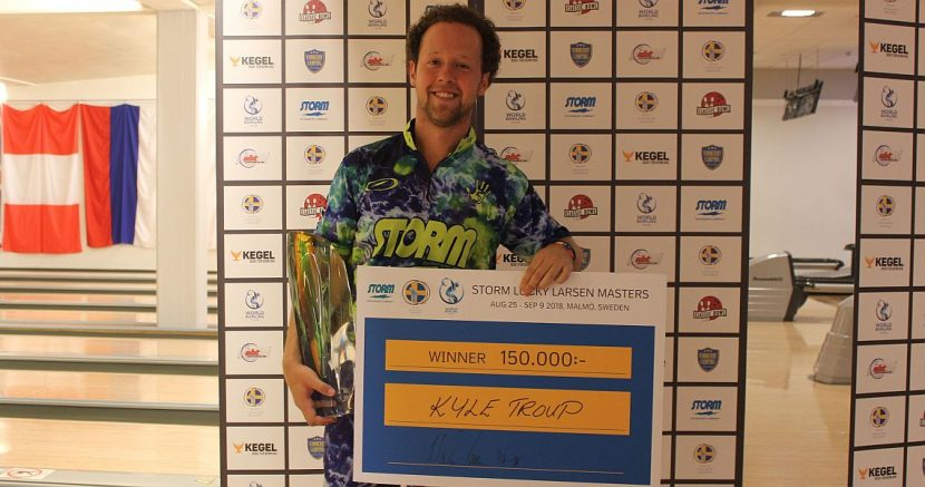 Kyle Troup defeats Jason Belmonte to win Storm Lucky Larsen Masters