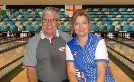 Liliane Vintens, Alan Jenkins take home the hardware at Stroud UK Senior Open