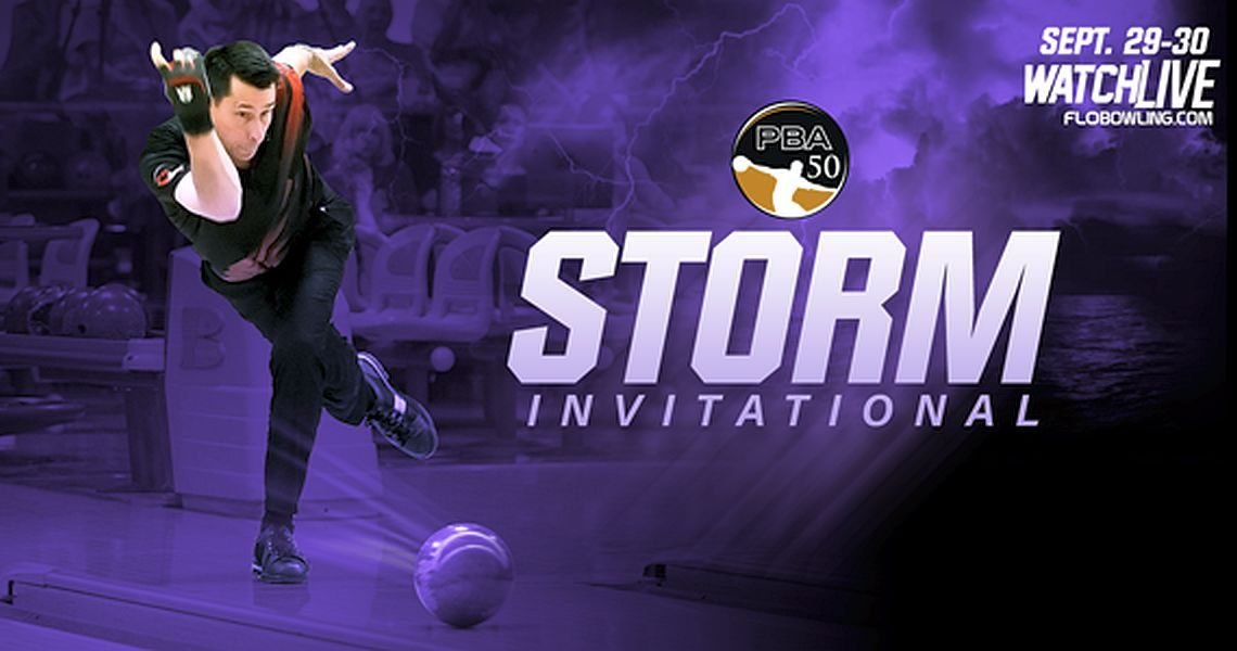 PBA50 Point Ranking leaders to compete in PBA50 Storm Invitational