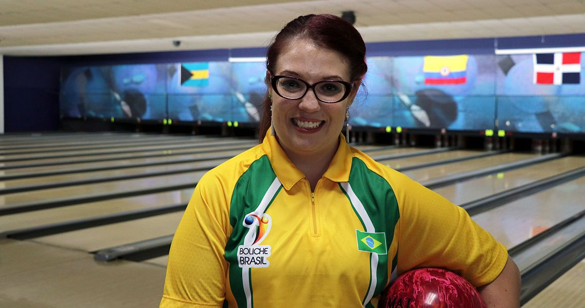 Brazil's Stephanie Martins wins Singles at 2018 PABCON Women's Championships