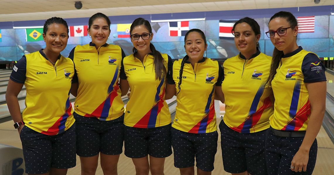 Colombia repeats in Team event at 2018 PABCON Women's Championships