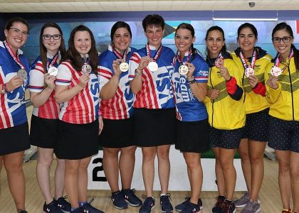 Team USA wins Trios at 2018 PABCON Women's Championships