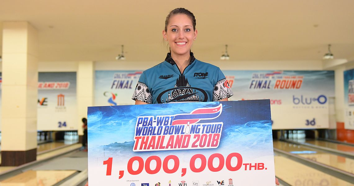 2018 World Bowling Tour Women's Point Ranking after Bangkok