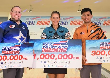 Big payday for Danielle McEwan, wins $30,000 in PBA-WBT Thailand