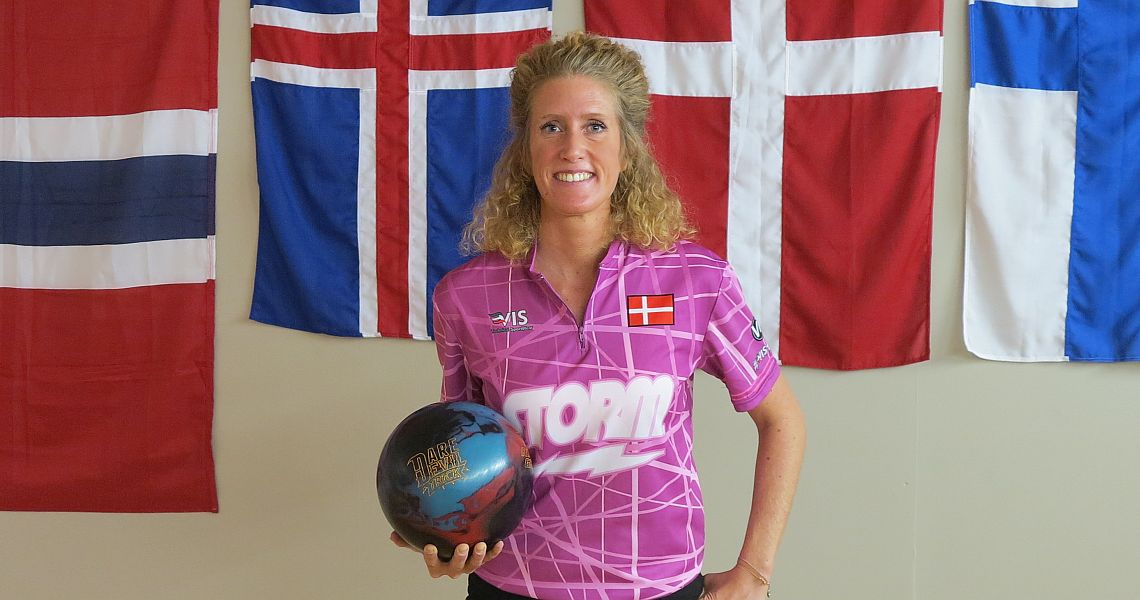 Denmark's Mai Ginge Jensen shoots 1471 to start final qualifying day in Oslo