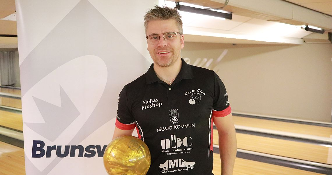 Peter Hellström paces Semifinal Round at Norwegian Open 2018 by Brunswick