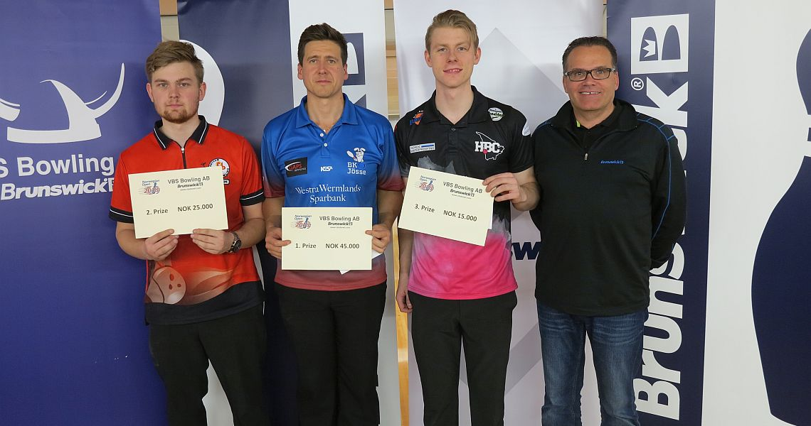 Sweden's Eric Sjöberg concludes 2018 EBT season with victory in Norway