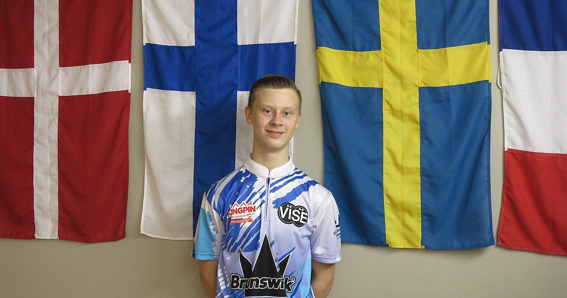 William Svensson averages 266 to lead Final Round Two in Oslo