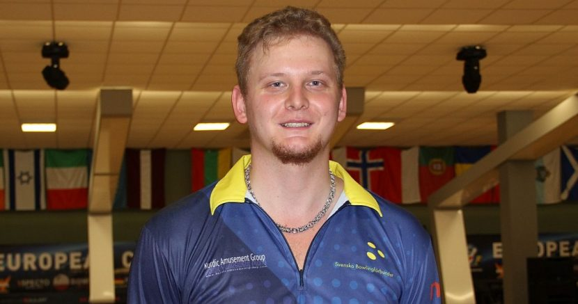 Sweden's Viktor Danielsson continues to lead as field is cut to top 16 men at ECC