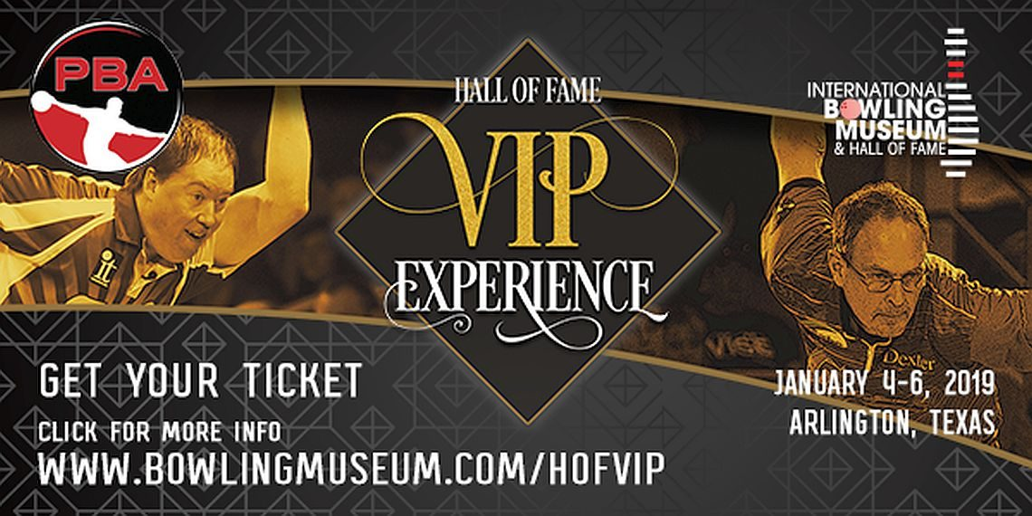 Hall of Fame VIP Experience raffle planned in conjunction with PBA Hall of Fame Classic