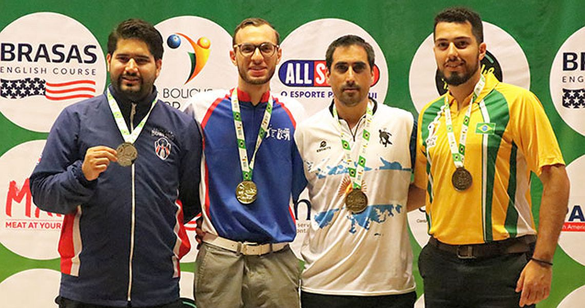 Gold for USA, Aruba in Masters at 2018 PABCON Champion of Champions