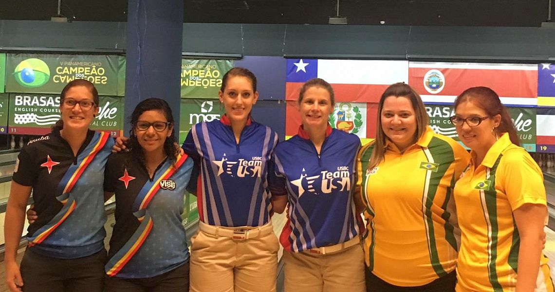Team USA sweeps Doubles at 2018 PABCON Champion of Champions