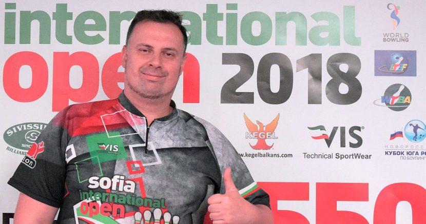 Alexey Drozhbin, Jenny Wegner crack top 8 in Sofia International Open