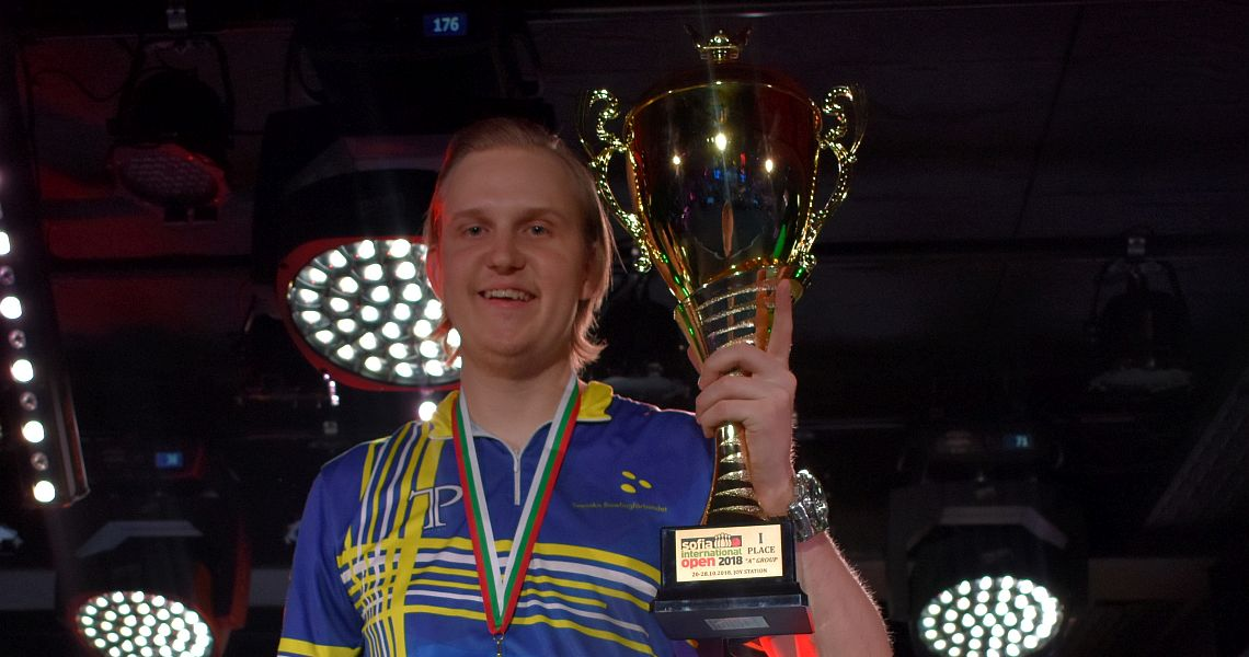 Sweden's Mattias Wetterberg wins 9th Sofia International Open