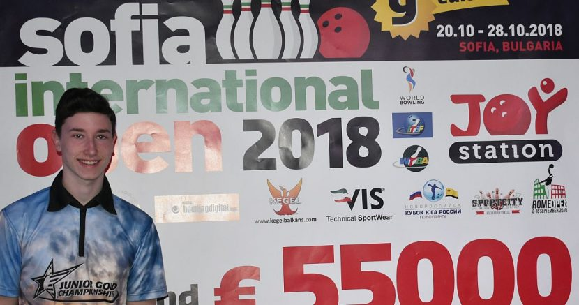 German junior national team member shoots into second place in Sofia