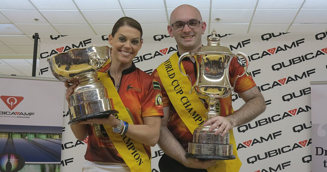 O'Keefe, Cooley capture titles in 54th QubicaAMF Bowling World Cup